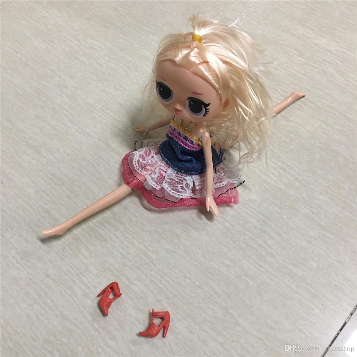 Nueva muñeca grande de 25 cm. Figuras de acción. Nueva muñeca de edición limitada. Las manos y los pies pueden moverse. Juguetes de niñas. Juguetes infantiles. Juguete. Regalo de navidad.