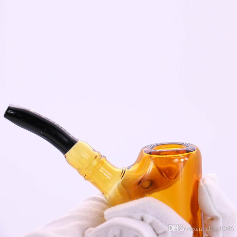 Bunte Glas Sherlock-Rohr 82g Tabacco-Hukah-Rohre 5.7