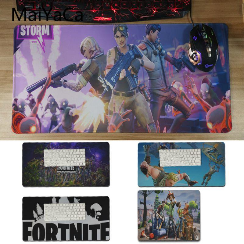MaiYaCa Top Quality fortnite Large Mouse pad PC Computer mat Soft Rubber  Professional Gaming Mouse Pad Computer