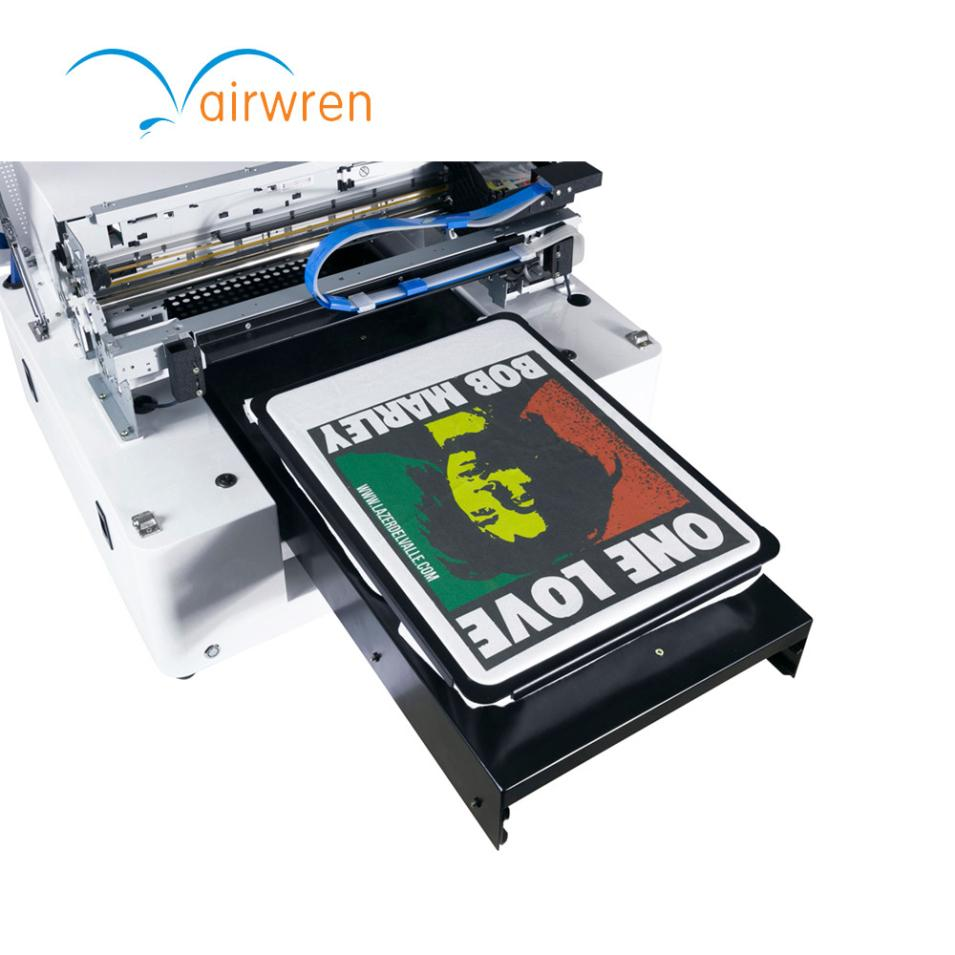 Custom Inkjet T Shirt Printer Digital Dtg Printing Machine With A3