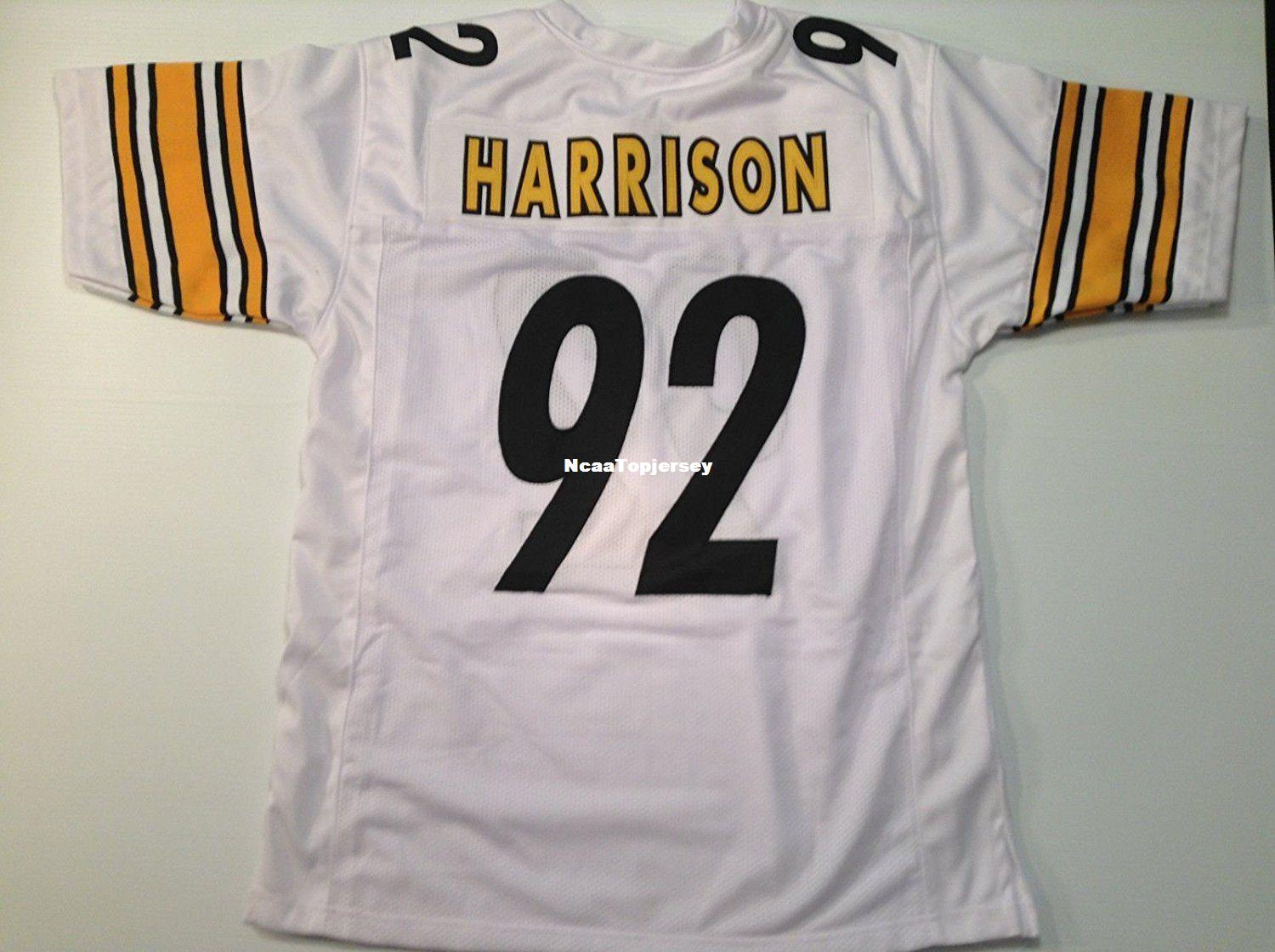 james harrison white jersey