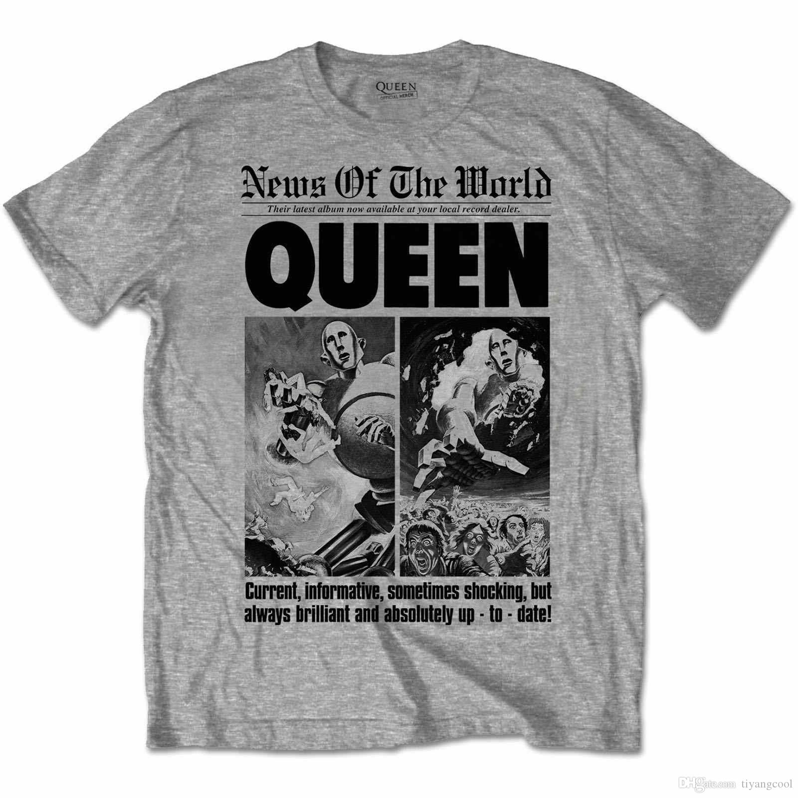 7072edc1f2ff OFFICIAL QUEEN ROCK BAND T SHIRT 40TH ANNIVERSARY Bravado NWT SIZE MEDIUM T  Shirts Cool Designs Awesome T Shirts Designs From Tiyangcool, $10.73|  DHgate.Com