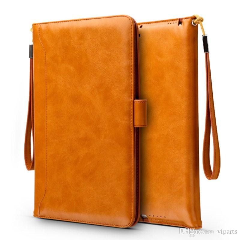 For New Ipad Pro Cases Flip Magnet Stand Leather Case Cover Business ...