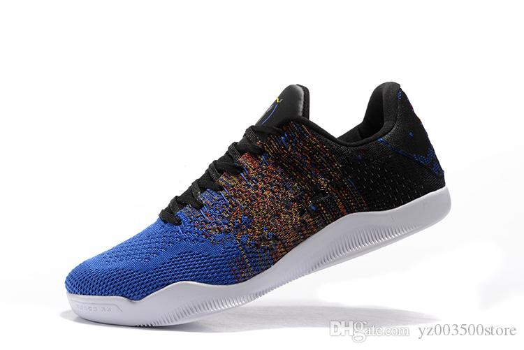 brand new dfa54 755ce 2018 High Quality Kobe 11 Elite Men Basketball Shoes Red Horse Oreo Sneaker  Brand KB 11s Mens Trainers Sports Sneakers Size 40-46