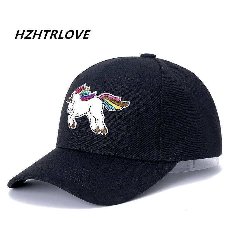 33dc702bb7b High Quality Unicorn Baseball Cap For Men Women Lovely Snapback Cap ...