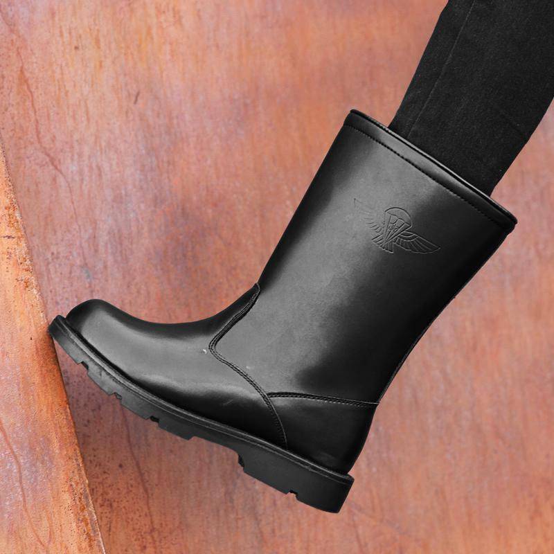 best service abc50 5a398 Herren Workhog Pull-on Wasserdichter Pro Work Boot Hochleistungs-Pelz  gefüttert Komfort Technologie Winterstiefel Napa Leder Isolierter Gummi Us12