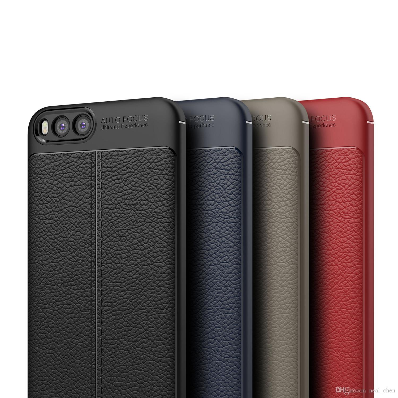 Individuelle Handyhüllen Luxus Weiche Tpu Leder Fällen Carbon Coque Abdeckung Für Xiaomi Mi 6 Mix 2 S 6 6x Plus Handyhüllen line Von Neal chen