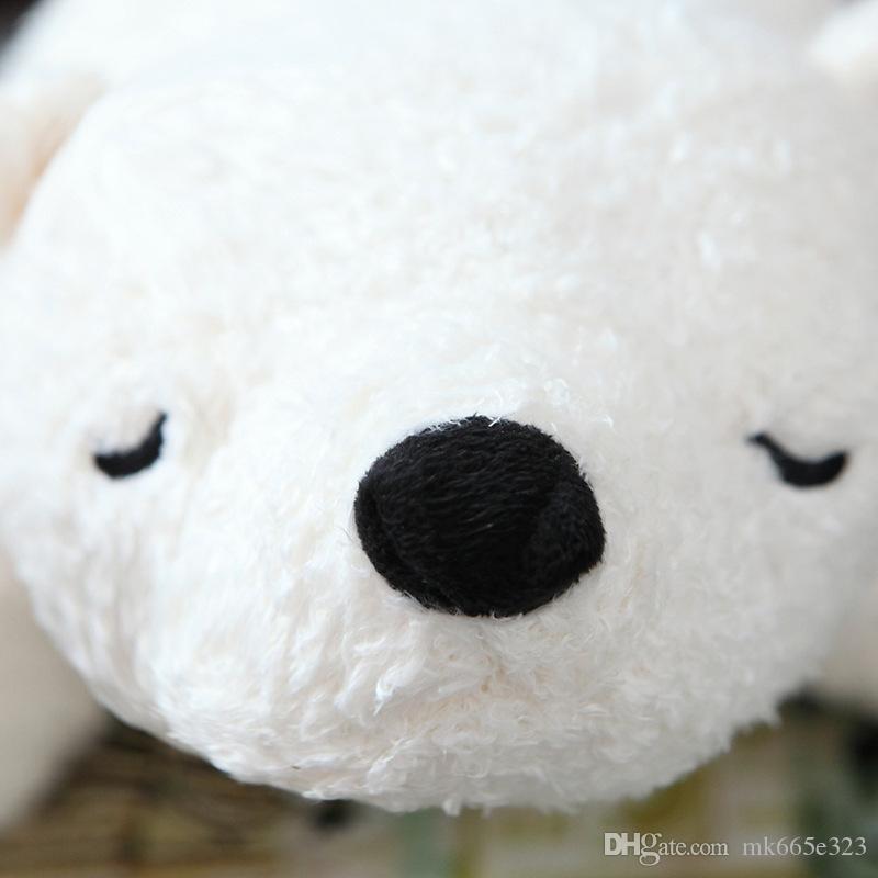 Kutup Ayıları Oyuncaklar Sevimli Yumuşak Peluş Oyuncak Bebek Doldurulmuş Hayvanlar Hediye Peluş Yastık sevgililer Günü hediyesi
