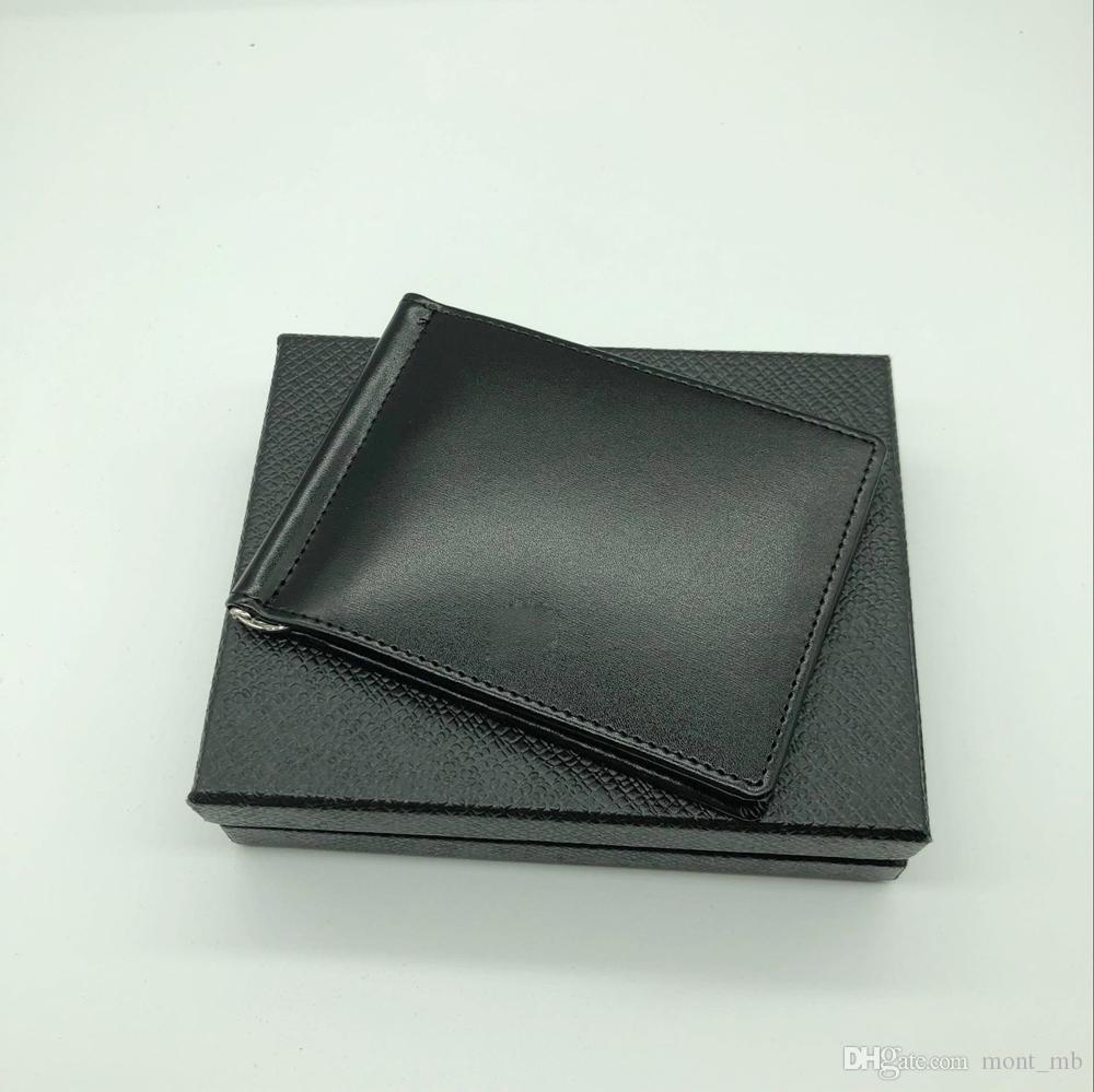 Best Seller Men S Leather Luxury M B Card Case Billfold Clip Black