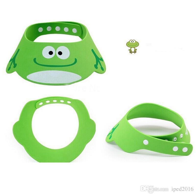 Toddler Kids Wash Hair Shield Direct Visor Caps Shampoo Bathing Shower Cap For Children Baby Care Sweet Lovely Baby Hats