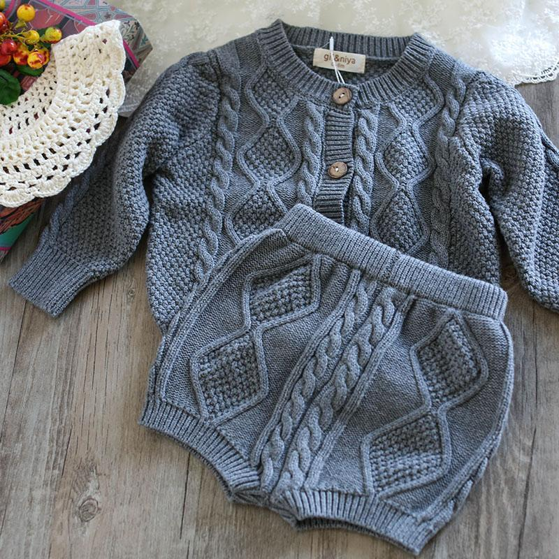 4413eaffb321 High Quality Baby Girls Cardigan Girl Sweaters Sets Turtleneck Children Baby  Girl Winter Clothes 2018 Handmade Sweater Designs For Kids Knitting Patterns  ...