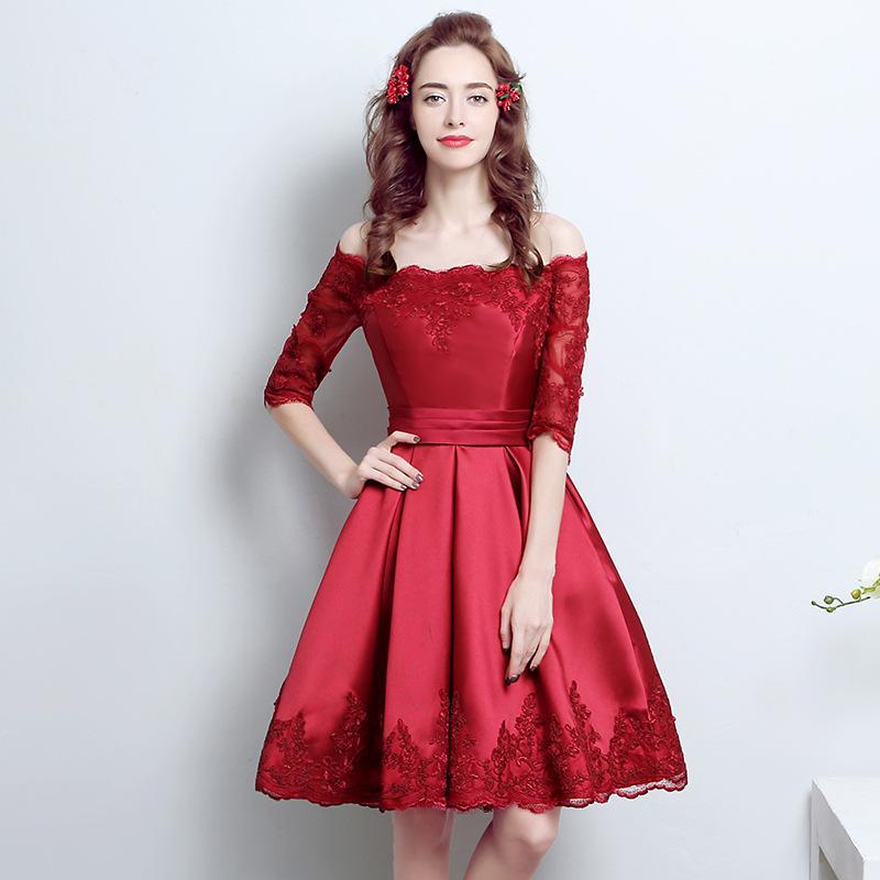 Calientes Vestidos 2018 Falda De Baratos Dama Honor Tul Compre xTzUwq11