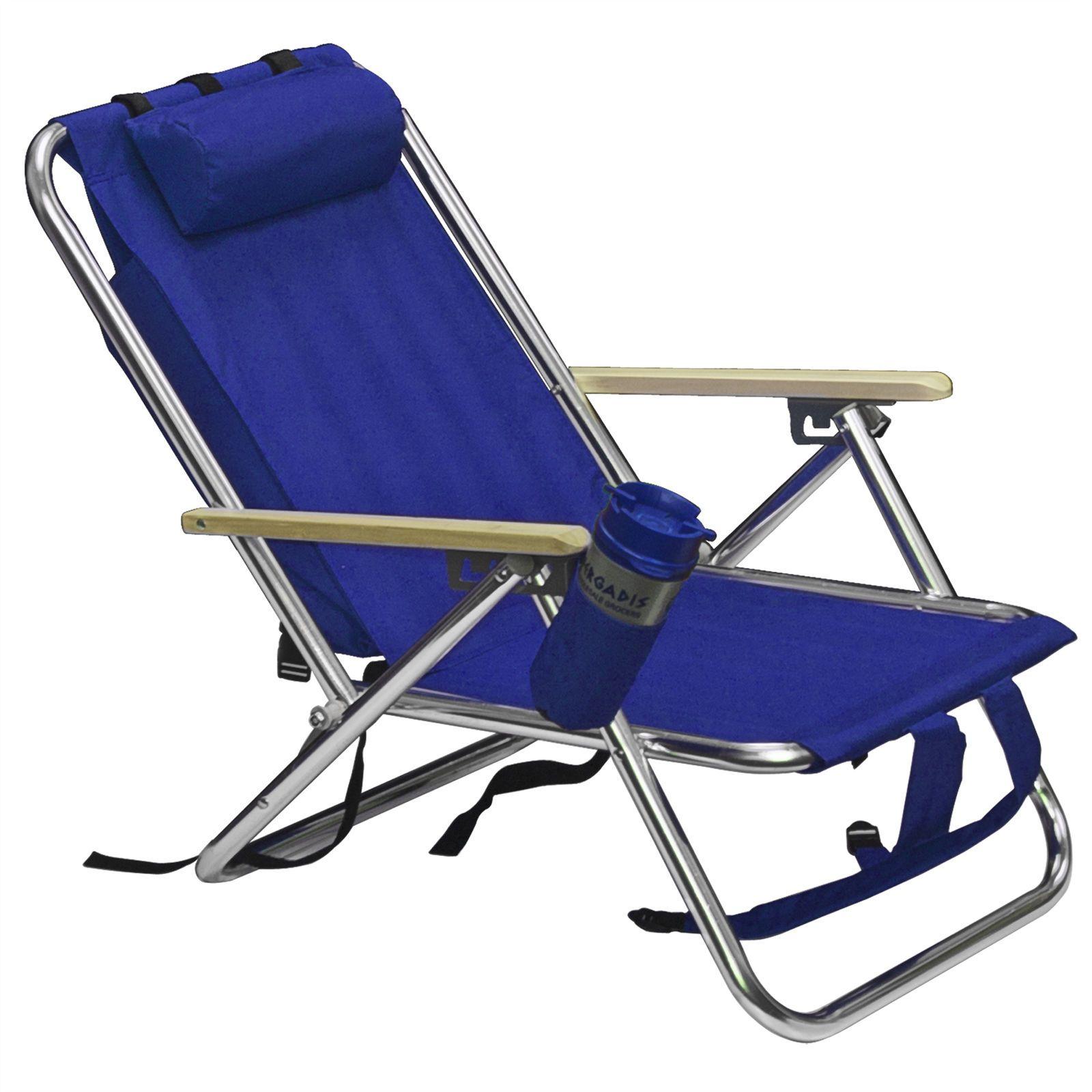 Chaise À Construction Plage New Blue Pliante Sac Dos Solide De Portable Camping b76vYgyfmI