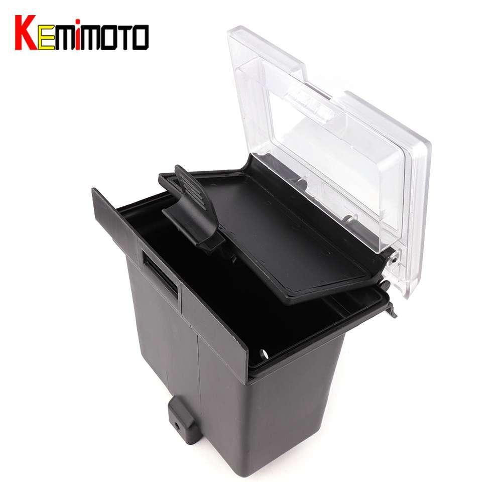 KEMiMOTO Center Dash Storage Box Center Compartment for POLARIS RZR 1000  900S RZR XP 1000 2014 2015 2016 2017 2018