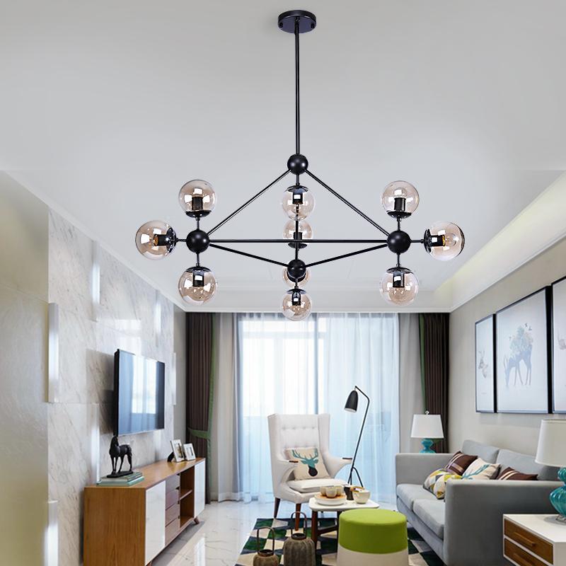 Kronleuchter Decke Globus Verzweigung Blase Kronleuchter 110 V 220 V Nordic Moderne Kronleuchter Beleuchtung Pendent Lampe Glaskugel Lampe