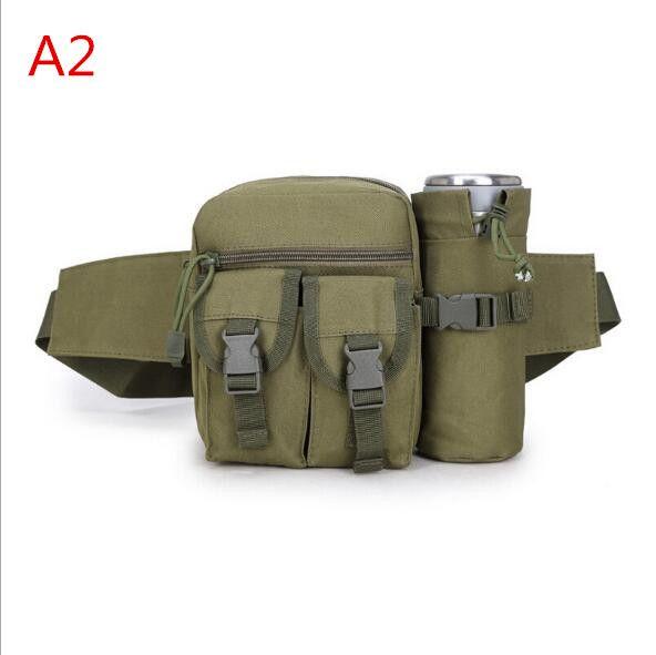 Camousflage Tactical Sports Man Bags Casual Bolsas de viaje Bolsas de alta calidad Botella de agua Funda Teléfono móvil Unisex ljjf016