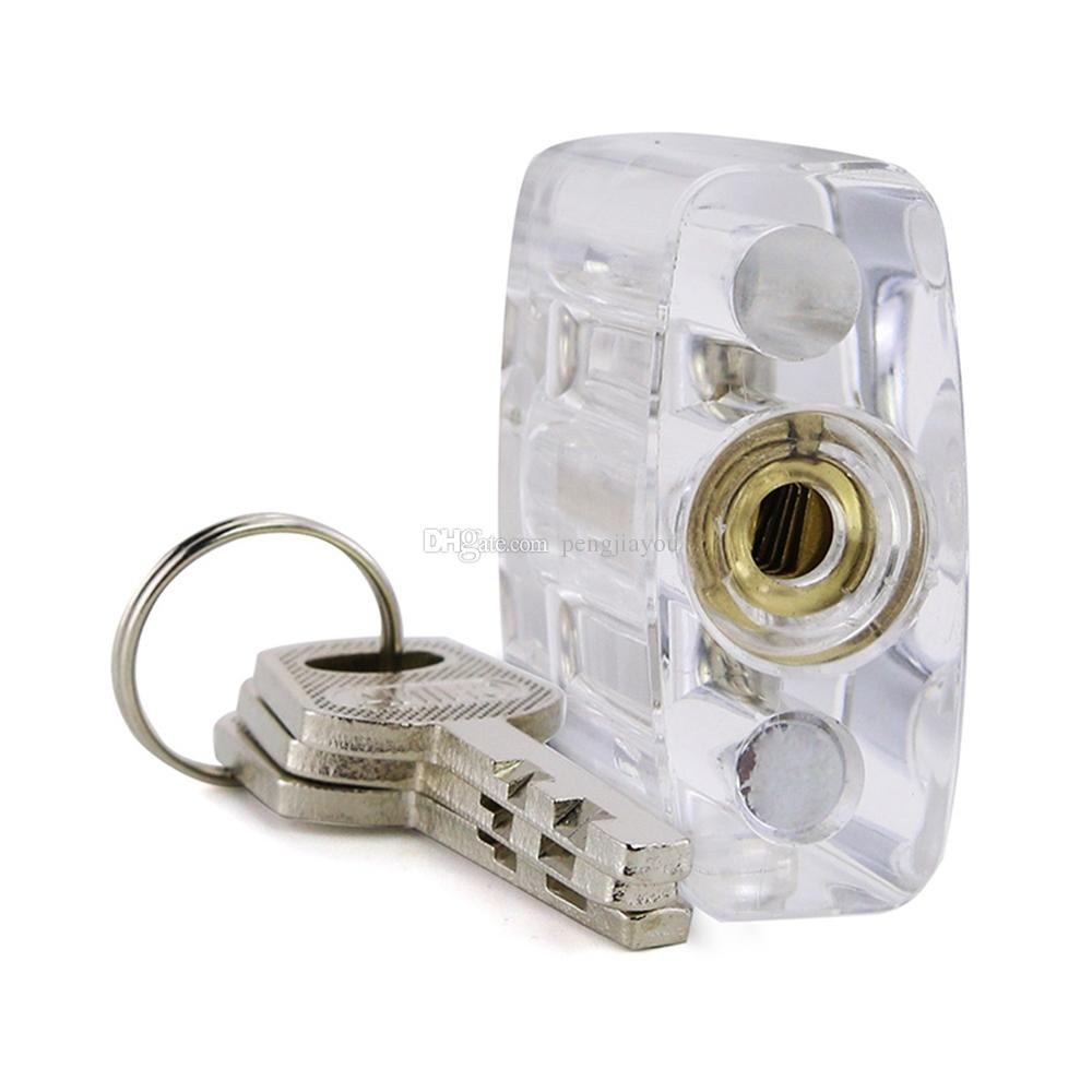 Transparent Disc Detainer Practice Lock - Great Clear Acrylic Lock Picking Training Kit for Locksmith Beginner - Shop Now Gets