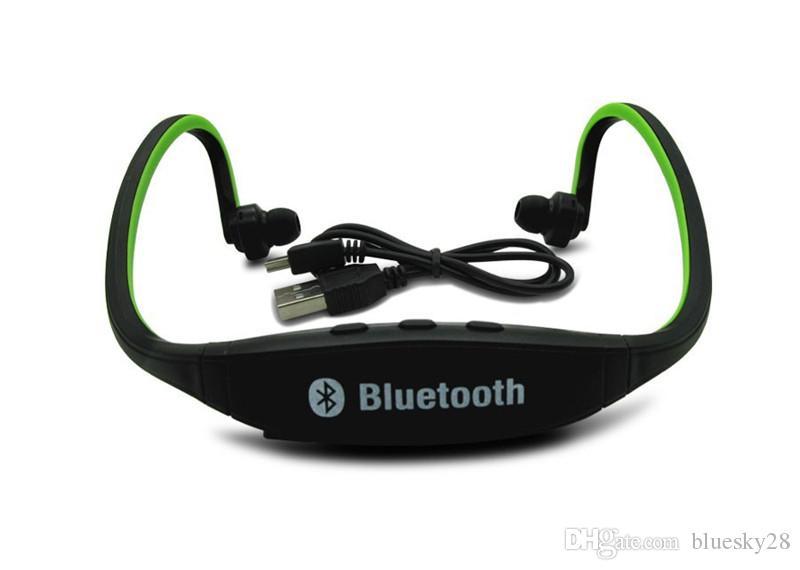 Wireless Bluetooth Kopfhörer für Samsung Galaxy S9 Kopfhörer Sport Fitness Headset mit SD-Kartensteckplatz mit Micro In Ear Kopfhörer