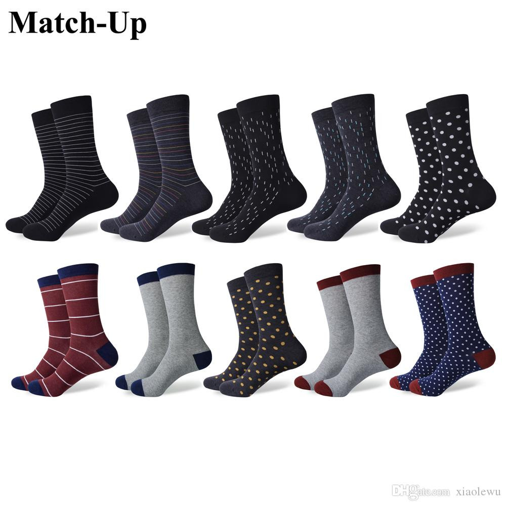 48c42e687b12 Match-Up Men s Thin Stripes Minimalist Business Style Cotton Socks Man  Socks Cotton Socks Men Sock Online with  39.08 Piece on Xiaolewu s Store
