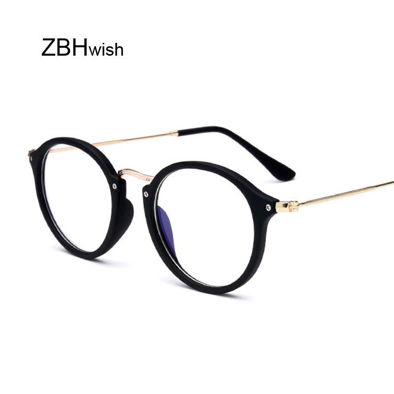 ba6a868ed7d00 Compre Olho De Gato Óculos Homens Mulheres Óculos De Sol Armação De Metal  Óculos Óptica Feminina Do Vintage Óculos Limpar Lente Transparente Oculos De  Sol ...