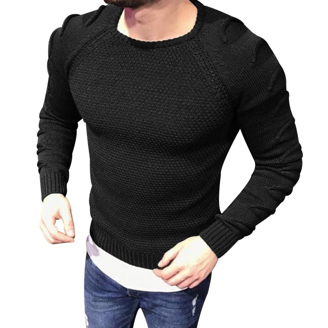 Großhandel 2018 Neue Herbst Winter Mode Herren Pullover Slim Fit Männer  Pullover Trend Gestrickte Jacquard Army Green Pullover Männer M XXL Von  Dalivid, ... e6c6d95a62
