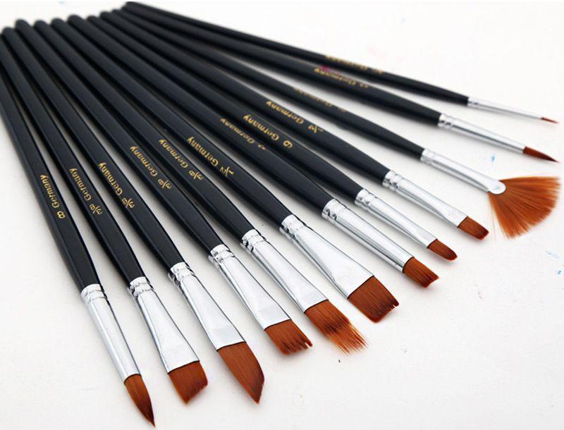Acheter Pinceaux Set Nylon Peinture De Cheveux Brosse Variété Style