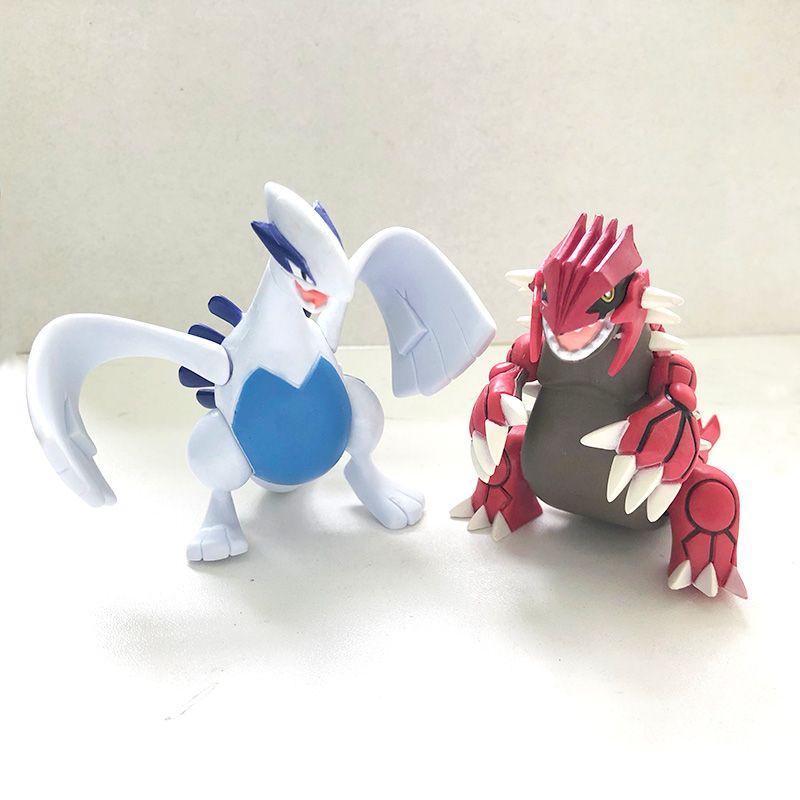 Großhandel 8 Cm Groudon Lugia Anime Cartoon Action Spielzeugfiguren