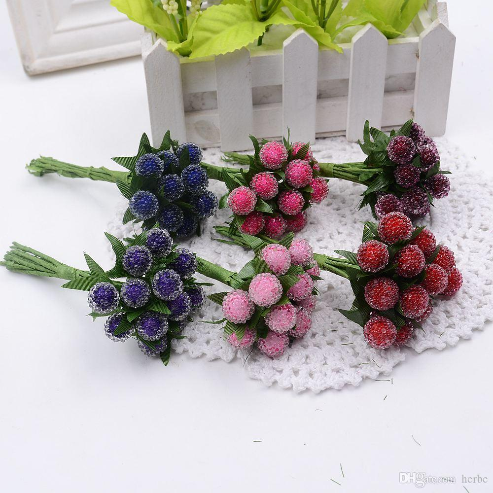 Online cheap wholesale artificial berry cherry red stamens pearl online cheap wholesale artificial berry cherry red stamens pearl wedding simulate glass pomegranate wedding home decorations artificial flowers by herbe izmirmasajfo