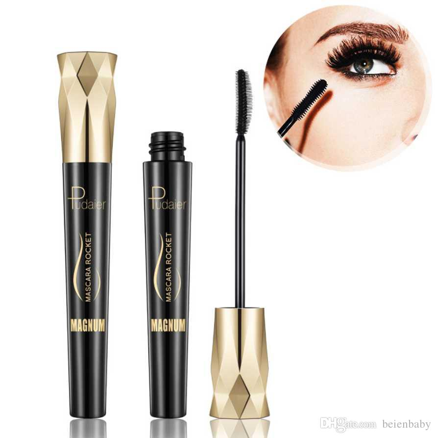43ffab21298 Pudaier 4d Silk Fiber Eyelash Mascara Waterproof Curling Eyelashes Thick  Lengthening Lash Extension Mascara Eyes Makeup Wholesale Makeup Kits Makeup  Online ...
