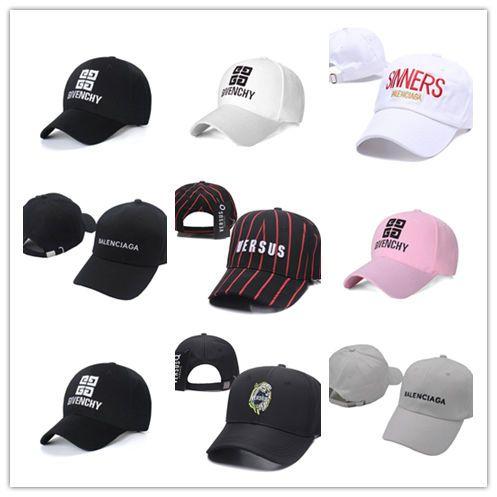 86bb7d39c High Quality Wholesale VETEMENTS Caps LA Letter embroidery baseball cap  flat-brim hat team size polo baseball caps