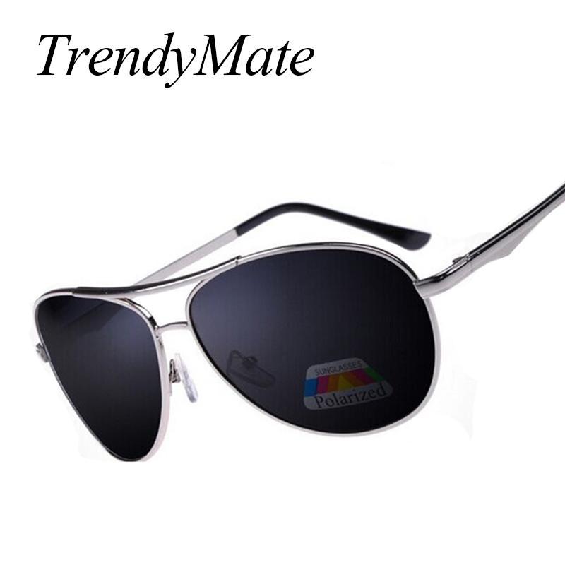 4c48d86f86 Hot High Quality Men Sunglasses Alloy Frame Classic Polaroid 15 Glass Lens  Polarized Sun Glasses Lentes De Sol 020M Suncloud Sunglasses Foster Grant  ...