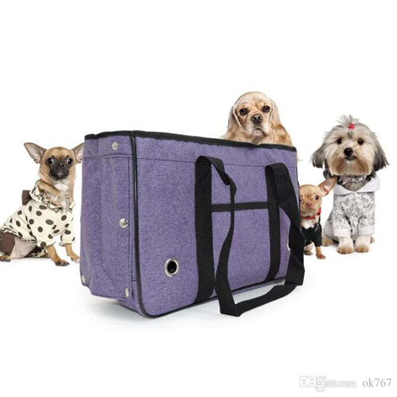 dbff5004eedf New outdoor travel pet bag cat backpack Teddy puppy cat breathable mesh  portable folding cage bag pet supplies wholesale
