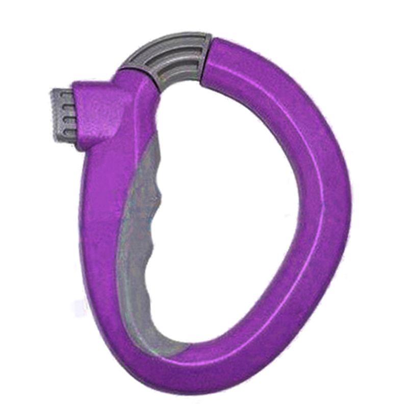 FGGS-Venta caliente Home One Trip Grips Carrier Holder Handle Lock Bolsa de la compra Herramienta de ahorro de trabajo Herramienta de cocina cestas de regalo