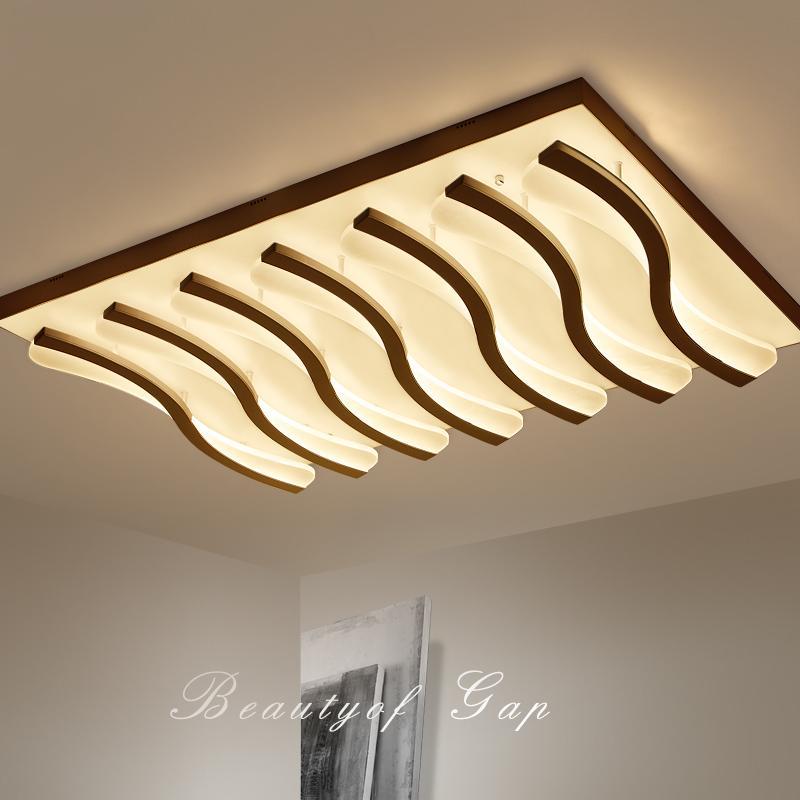 Großhandel LED Wohnzimmer Deckenleuchten Einfache Postmodern ...