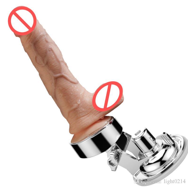 Huge Dildo Automatic Thrusting Heating Vibrator Motor Stimulate Realistic Penis Vaginal Plug Flesh Artificial Penis Dick for Women C3-106