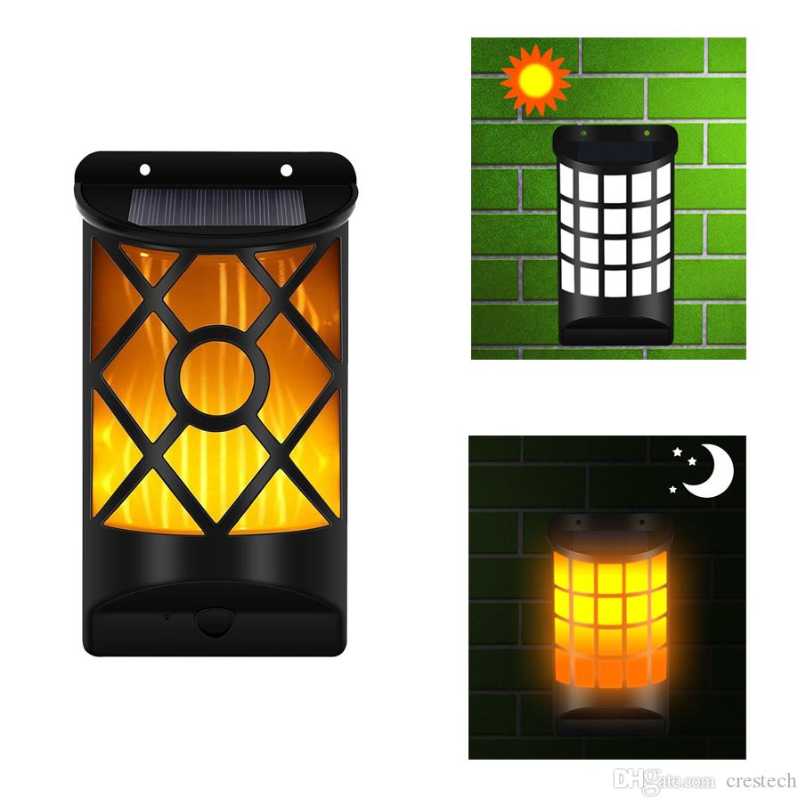 1 pack Epacket Solar Wall Lights Outdoor Led Waterproof Lighting for Deck, Fence, Patio, Front Door Yard and Driveway Path