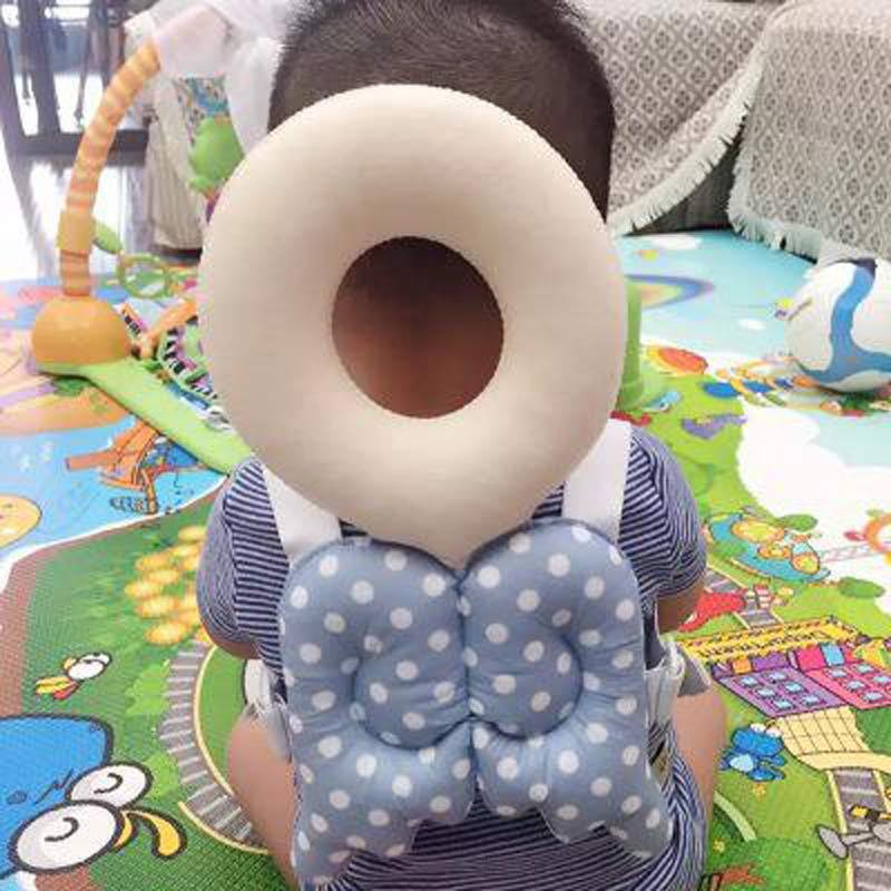 Baby Playpen Safety Barriers For Children Wings Drop Resistance Head  Protection Travel Entertainment Move Cushion Pillow