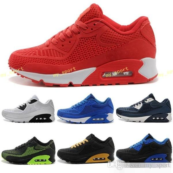 2018 New Air Cushion 90 KPU Men Women Sport Shoes High Quality Classical Sneakers  Cheap Sports Running Shoes Size 36 46 Sports Shoes For Women East Bay ... 9db72b23f1
