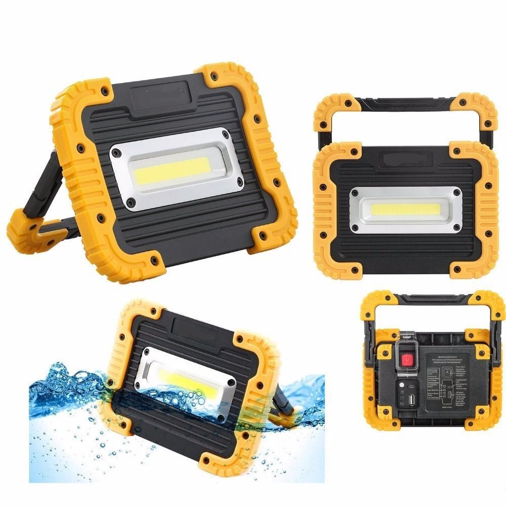 Lampe Lumière Powerbank Projecteur Cob Led Pour Rechargeable Tente Camping 800 Randonnée Lantern Portable 20w Lumens O08nwPk
