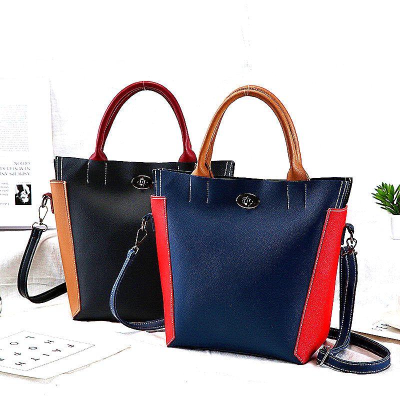 6e0f9338d001 2018 Fashion Women Shoulder Bags Brand Luxury Handbag PU Leather ...