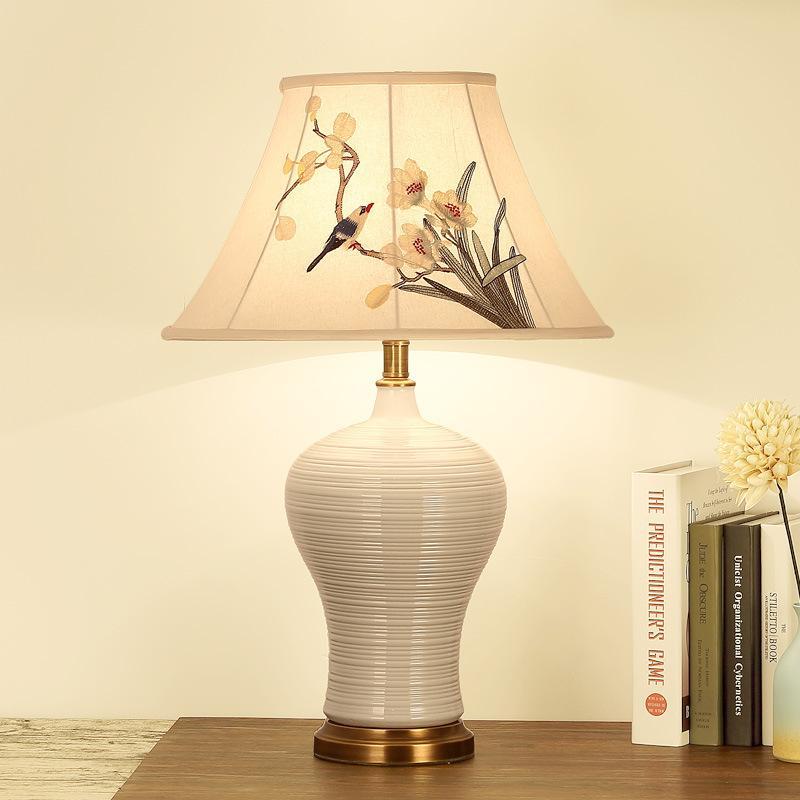 2019 TUDA 65X44cm LED Table Lamp For Living Room Simple Modern ...