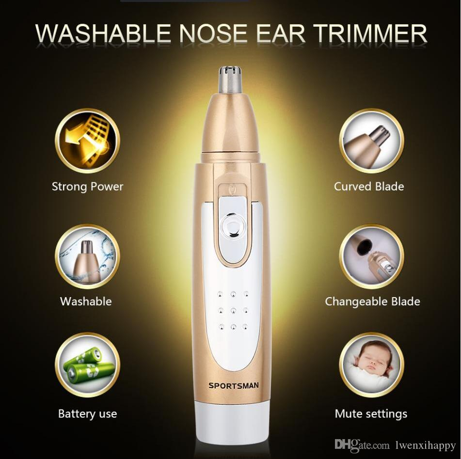 Potabal Electric Hair Nose Ear Face Removal Trimmer Shaver Clipper Remover Tool
