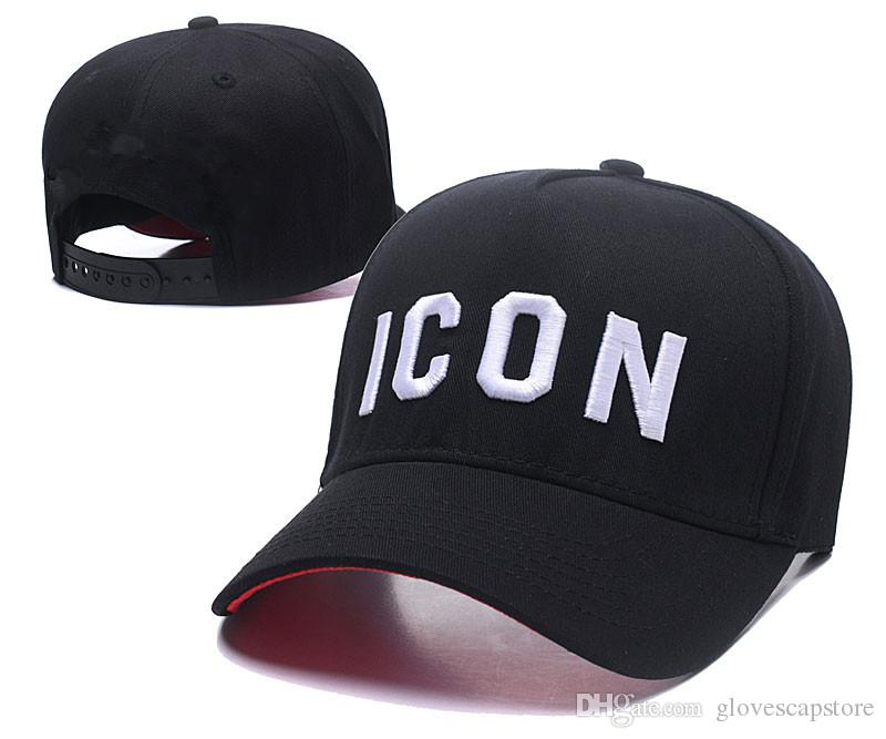 f06a7ba949d 2018 Fashion ICON Caps Hats Embroidery LA Letters Snapback Baseball ...