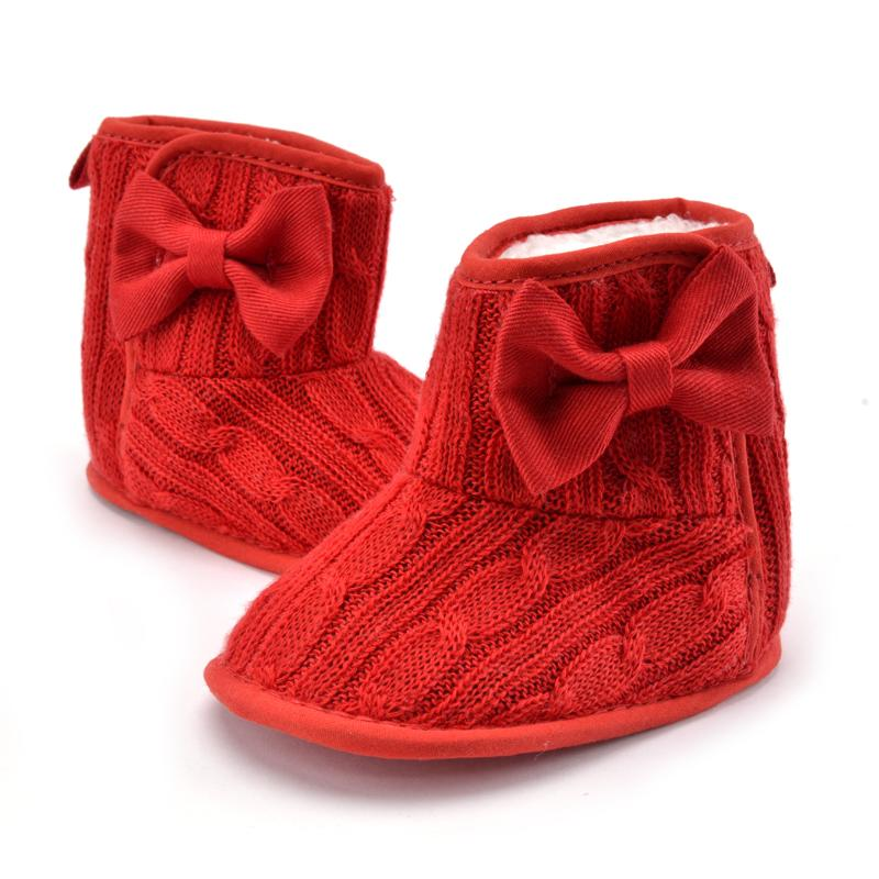 Winter Baby Girl Shoes First Walkers Newborn Prewalker Shoes Baby Boy Infant Sneakers Crochet Booties