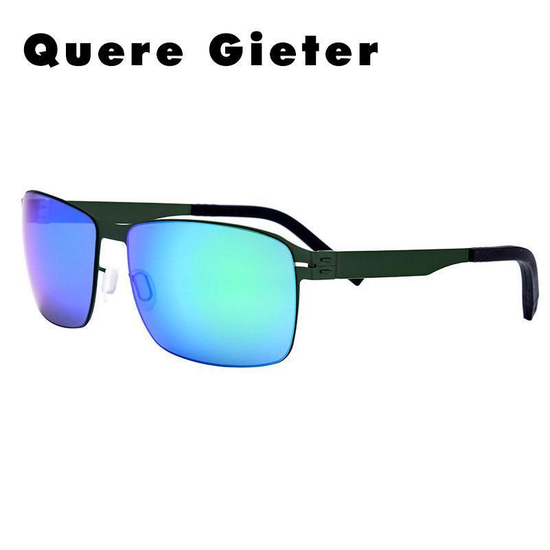 812c94d8a Compre Aço Inoxidável Preto Retângulo Mens Óculos De Sol Dos Homens Óculos  De Sol De Condução Para Homens Design Alemão Óculos De Sol Oculos De Sol De  ...