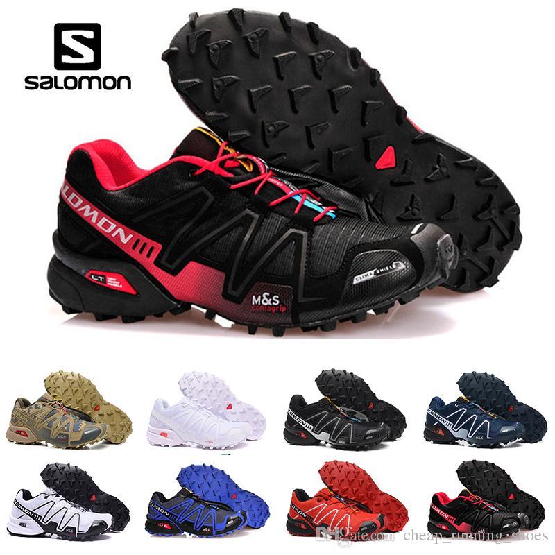 8a12f7d2c3f41 ... australia compre todos los zapatos blancos salomon speed cross 3 cs iii  running black silver red