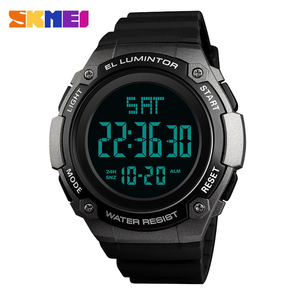 874df8bc8c73 Compre SKMEI 1346 Analógico Reloj Digital Hombres Reloj Deportivo Masculino  Reloj Deportivo 5ATM Impermeable Luz De Fondo Relojes Para Hombre Relogio  ...