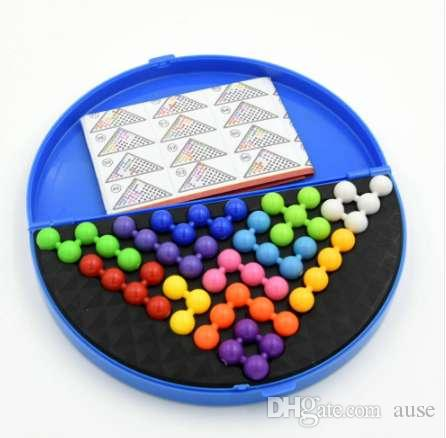 Puzzles & Games Puzzles Classic Puzzle Pyramid Plate Iq Pearl Logical Mind Game Brain Teaser Educational Toys For Children Pyramid Beads Puzzle