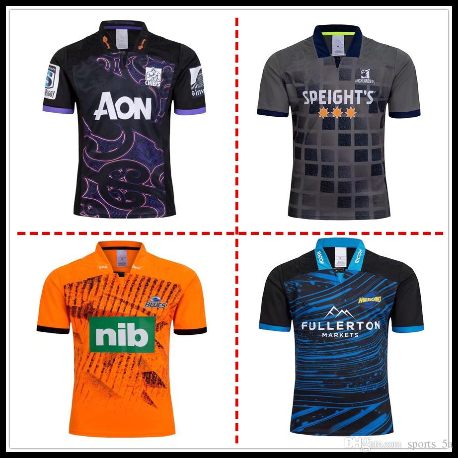cd87002fb Hot Sales 2018 2019 Highlanders Blues Super Rugby Training Jersey ...