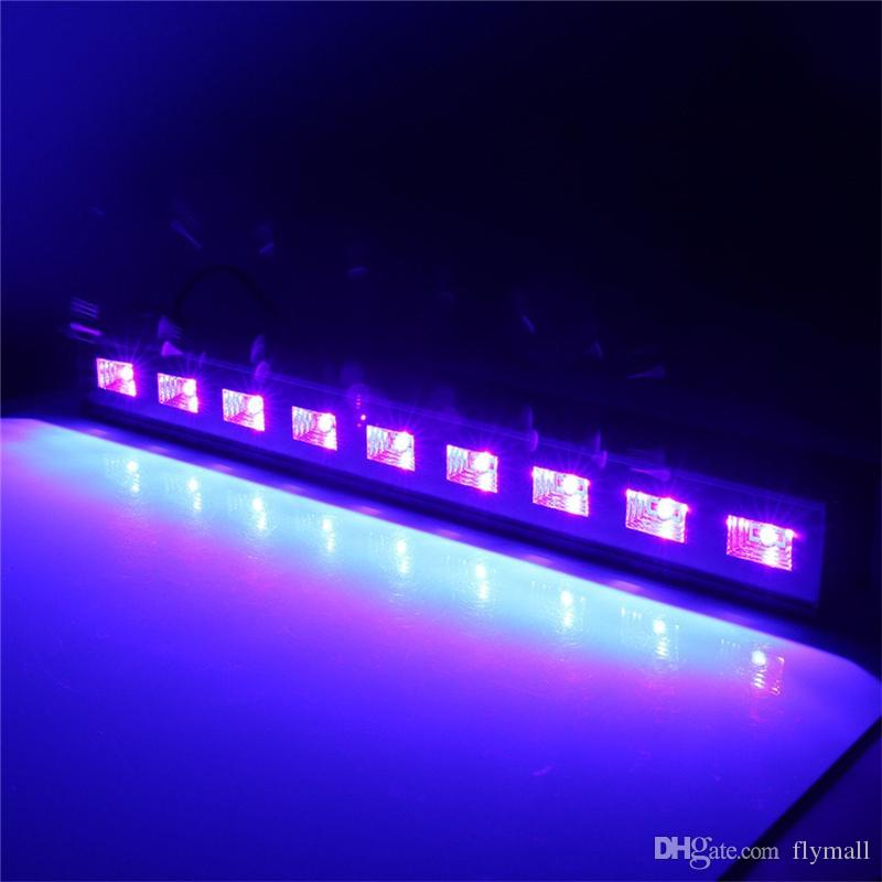 LED Bar Black Lights 18W 27W 36W 54W UV Blacklight LED Wall Wash Lamp Floodlight for Christmas Halloween Party Florescent Poster Disco